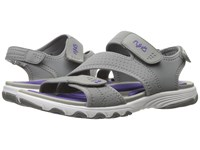 Ryka Dominica Frost Grey Ultra Violet Women's Shoes Gray