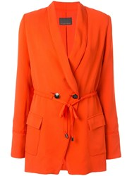 Ginger And Smart Orphic Drawstring Jacket Orange