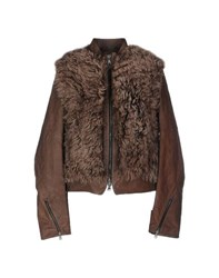 Lost And Found Lost And Found Coats And Jackets Jackets Women Brown