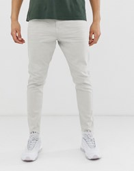 Tom Tailor Slim Fit Cropped Jeans In Grey