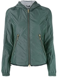 Duvetica Lightweight Quilted Jacket Women Cotton Feather Down Polyamide Feather 46 Green