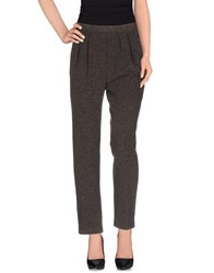 Niu' Trousers Casual Trousers Women Dark Brown