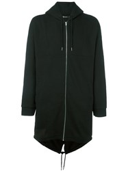 Alexander Wang T By Oversized Hoodie Black