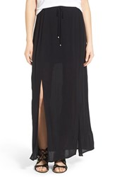 Women's Splendid 'Ray' Crinkle Gauze Maxi Skirt