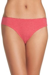Honeydew Intimates Women's Rib Knit Bikini Heather Summer Catch