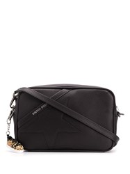 Golden Goose Star Patch Shoulder Bag Black