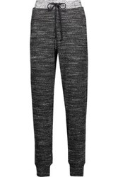 Splendid Stretch Jersey Tapered Pants Charcoal