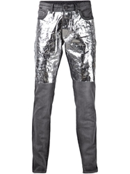 Viktor And Rolf Foil Patch Jeans