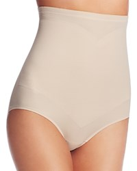 Tc Fine Shapewear Intimates Adjust Perfect High Waist Brief 4175 Cupid Nude