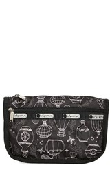 Le Sport Sac Lesportsac Travel Cosmetic Case Sweet Essence Black