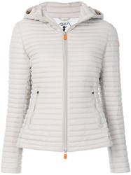 Save The Duck Padded Jacket Grey