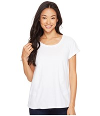 Hatley Cotton Linen Tee Summer White Women's T Shirt