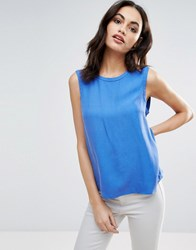 Only Maian Sleeveless Blouse Amparo Blue