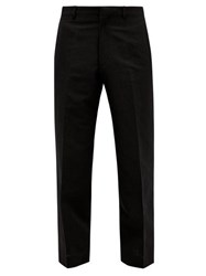 Sasquatchfabrix. Sasquatchfabrix Tailored Wool Blend Trousers Black