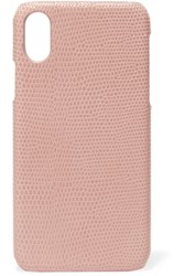 The Case Factory Lizard Effect Leather Iphone 8 Blush