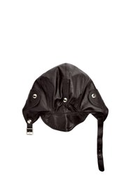 Connolly Leather Driving Helmet Black