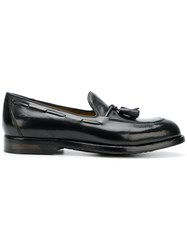 Officine Creative Ivy Loafers Buffalo Leather Calf Leather Leather Foam Rubber Black