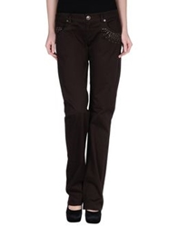 Freesoul Casual Pants Dark Brown