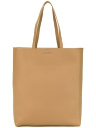 Orciani Shopper Tote Women Leather One Size Nude Neutrals