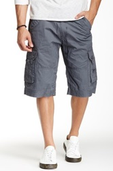 Antique Rivet Hans Cargo Short Gray