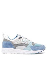 Karhu Fusion 2.0 Leather And Suede Trainers Blue Multi