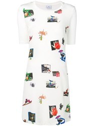 Paul Smith Ps Art Print T Shirt Dress White
