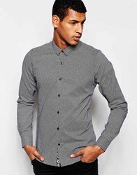 Vito Shirt With All Over Cross Black