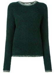 Elizabeth And James Classic Sweater Green