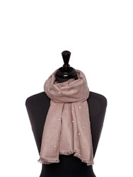Moda In Pelle Pearliscarf Scarves Pink