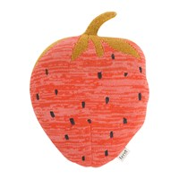 Ferm Living Fruiticana Knitted Cushion Strawberry
