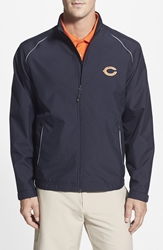 Cutter And Buck 'Chicago Bears Beacon' Weathertec Wind And Water Resistant Jacket Navy Blue
