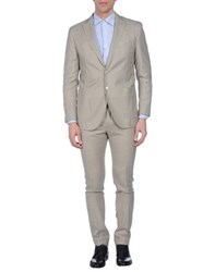 Luigi Bianchi Mantova Suits And Jackets Suits Men Beige