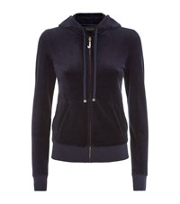 Juicy Couture J Bling Velour Hoodie Female