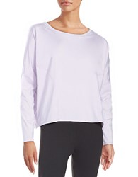 Betsey Johnson Mesh Accented Active Top