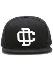 Dsquared2 Embroidered Snapback Cap Black