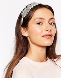 Erin And Elizabeth For Johnny Loves Rosie Laoise Headband Silver