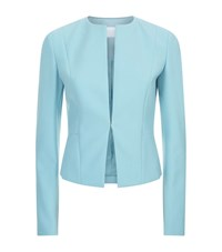 Boss Womenswear Collarless Blazer Female Blue