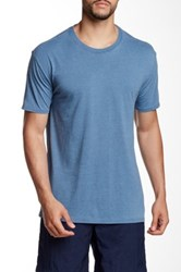 Mr. Swim Burnout Crew Neck Tee Blue