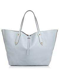 Annabel Ingall Isabella Large Leather Tote Pale Lapis Blue Gold