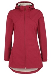 Icepeak Penni Soft Shell Jacket Burgundy Bordeaux