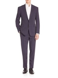 Polo Ralph Lauren Solid Wool Suit Navy Grey