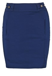 Morgan Jalia Mini Skirt Marine Dark Blue