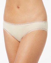 Charter Club Modern Essentials Lace Trim Bikini Only At Macy's Spice Almond