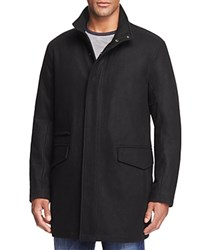 Marc New York Stanford Wool Blend Puffer Coat Jet Black