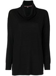 Paul Smith Ps By Colour Detail Knit Sweater Wool Xl Black