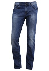 Tom Tailor Denim Aedan Slim Fit Jeans Mid Stone Wash Denim Blue Denim