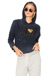Sundry Lets Play Crossback Hoodie Blue