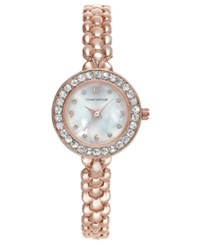 Charter Club Rose Gold Tone Bracelet Watch 26Mm Only At Macy's