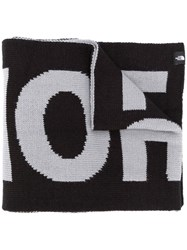 The North Face Logo Print Knitted Scarf 60
