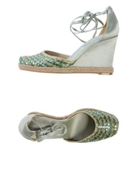 Nine West Espadrilles Light Green